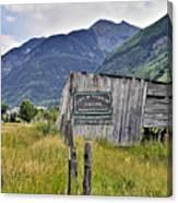 Welcome To Telluride Colorado Canvas Print