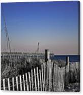 Welcome To The Beach Canvas Print