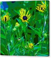 Welcome To The Garden Canvas Print