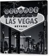 Welcome To Vegas Xi Canvas Print