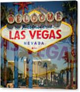 Welcome To Vegas Xiii Canvas Print