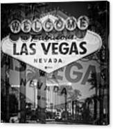 Welcome To Vegas Xiv Canvas Print