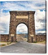 Welcome To Yellowstone Canvas Print