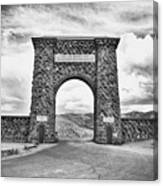 Welcome To Yellowstone Too Canvas Print