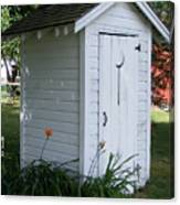 Well Manicured Water Closet Canvas Print