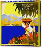 Wellcome To Jamaica Canvas Print