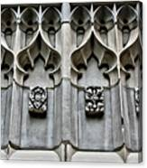 Wellesley College Tower Court Detail Canvas Print