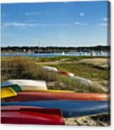 Wellfleet Harbor Cape Cod Canvas Print