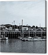 Wellfleet Harbor Canvas Print
