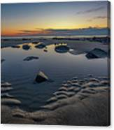 Wells Beach Solitude Canvas Print
