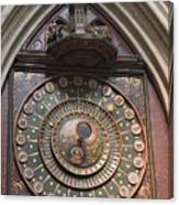 Wells Cathedral Astronomical Clock Canvas Print