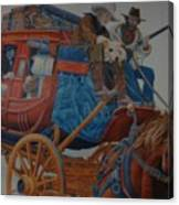 Wells Fargo Stagecoach Canvas Print