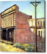 Wells Fargo Virginia City Nevada Canvas Print
