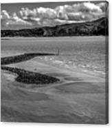 Welsh Coastal View From The Great Orme  Canvas Print