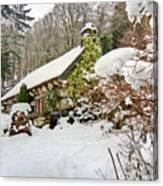 Welsh Cottage Canvas Print