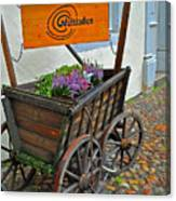 Weltladen Cart Canvas Print