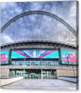 Wembley Stadium Wembley Way Canvas Print