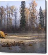 Wenatchee River, Fall 2015 Canvas Print