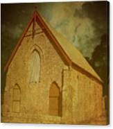 Wesley Church, Greenough, Western Australia Canvas Print