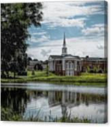 Wesleyan Chapel Canvas Print
