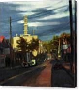 West Brighton - October Canvas Print
