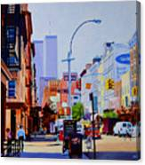 West Broadway Canvas Print