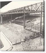 West Bromwich Albion - The Hawthorns - Brummie Road End 1 - Bw - 1960s Canvas Print