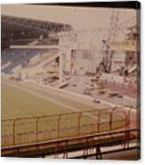 West Bromwich Albion - The Hawthorns - Halfords Lane West Stand 2 - Construction - 1980 Canvas Print