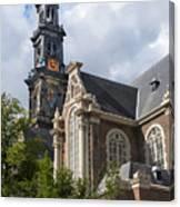 West Church Westerkerk Canvas Print