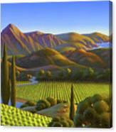 West Coast Dreaming Canvas Print