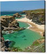West Coast Of Portugal Canvas Print