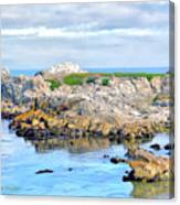 West Coast Seascape 3 Canvas Print