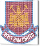West Ham Canvas Print