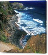 West Maui Coast Canvas Print