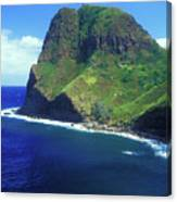 West Maui Ocean Cliff Canvas Print