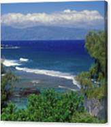 West Maui Ocean View Canvas Print
