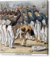 West Point Cartoon, 1880 Canvas Print