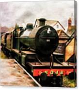 West Somerset Railways Train. Canvas Print