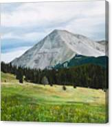 West Spanish Peak In Summer Canvas Print
