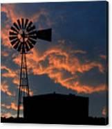 West Texas Cattle Tank Canvas Print