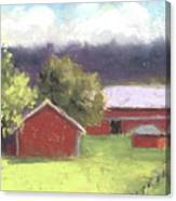 West View Of The Meyer Ranch Canvas Print