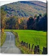 West Virginia Autum On Sandy Ridge Canvas Print