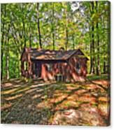 West Virginia Cabin Canvas Print