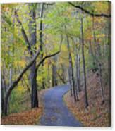 West Virginia Fall Scene Canvas Print
