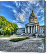West Virginia State Capitol Building No. 2 Canvas Print