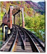 West Virginia Trestle Canvas Print