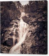 West Waterfall Canvas Print