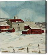 West Winfield Farm Canvas Print