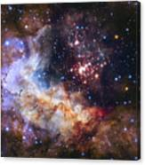 Westerlund 2 - Hubble 25th Anniversary Image Canvas Print
