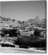 Western Arizona Mountains Canvas Print